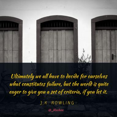 JK Rowling- Very Good Lives