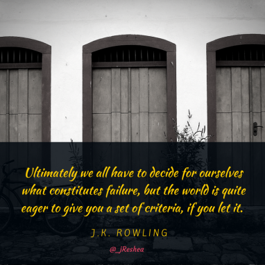 JK Rowling- Very Good Lives