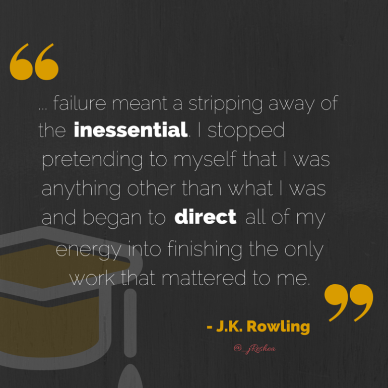 J.K. Rowling- Book Review Quote