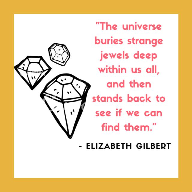 Elizabeth Gilbert, Big Magic Q1